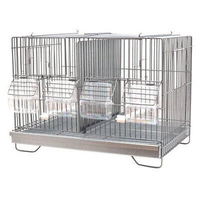 Jaula Para Pájaros de cría de 40cm Canarios, Jilgueros, Exóticos y Pájaros