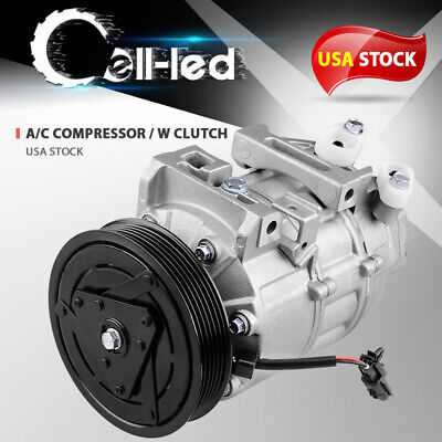 A/C Compressor for Nissan Altima Sentra 2.5L L4 2007 2008 2009 2010 2011 -
