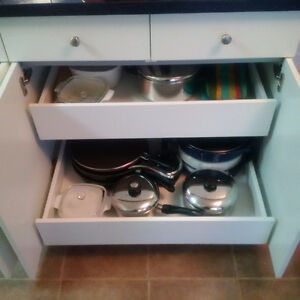 Roll Out Shelving for all Cabinets