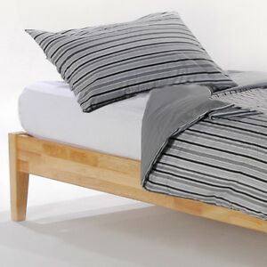 single bed/day bed/childs bed. All Natural frame &latex mattress