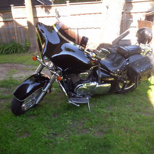 Beautiful Black Suzuki C50T Boulevard CERTIFIED