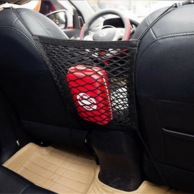 Car Seat Mesh Organizer Storage Cargo Net Pocket Luggage Hook Pouch Holder