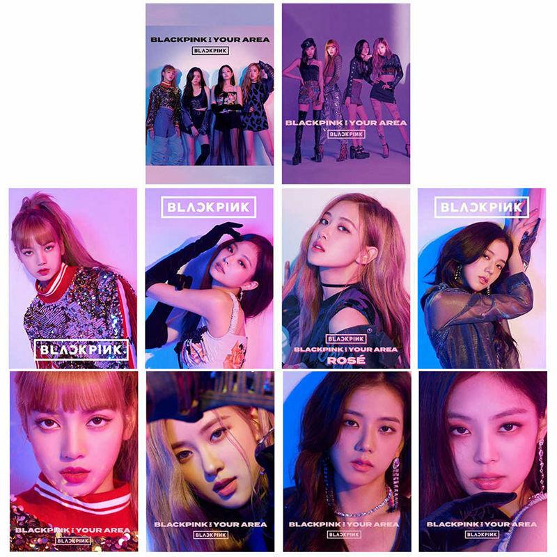 Details about Kpop BLACKPINK Poster Album BLACKPINK IN YOUR AREA Poster  LISA JENNIE JISOO ROSE