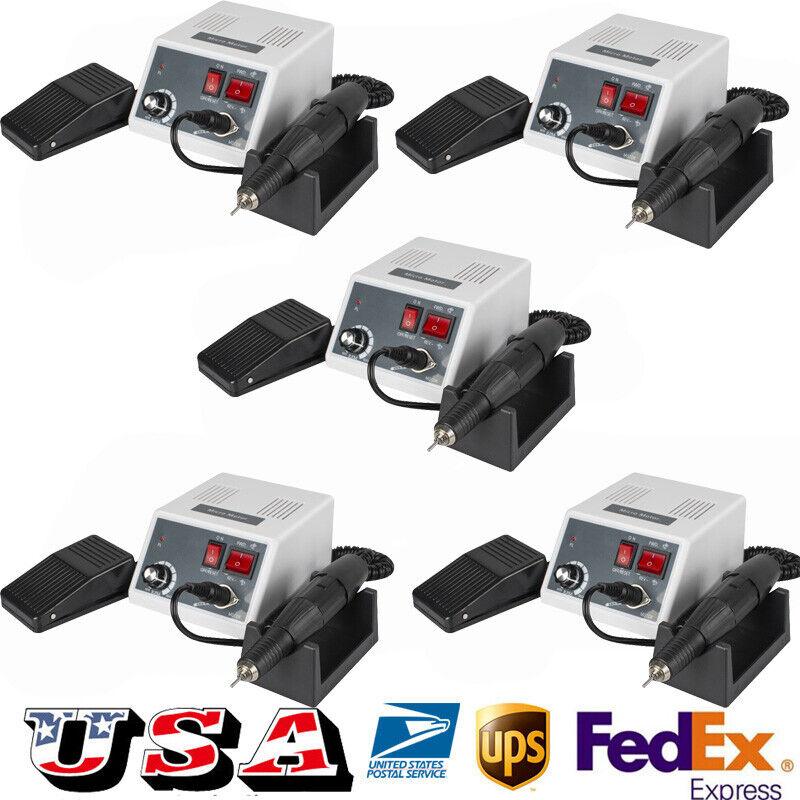 5X USA Dental Electric Micromotor Control +35k RPM Motor Handpiece fit Marathon