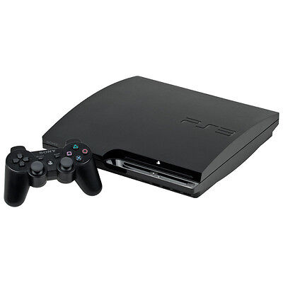 Sony PlayStation 3 Slim 120GB Charcoal Black Console