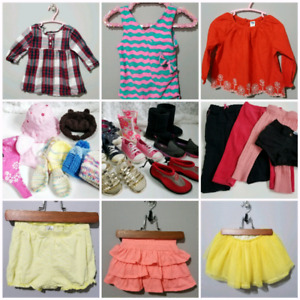 Girls Clothes 12-24 Month Lot