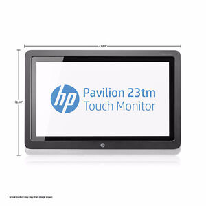 HP Pavilion 23TM 23-inch Touchscreen LED Monitor