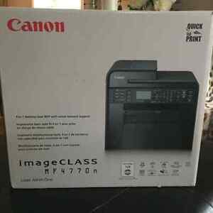 Brand-new never used 4 in one laser printer