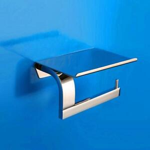 Brass toilet paper holder rack (020036)