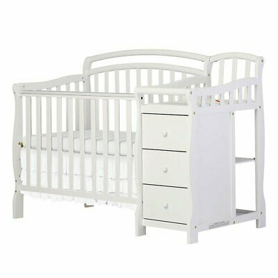 Dream On Me Casco 3 in 1 Mini Crib and Dressing Table Combo