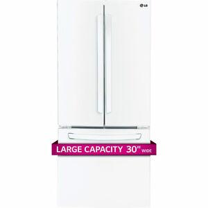 LG fridge white 21.8