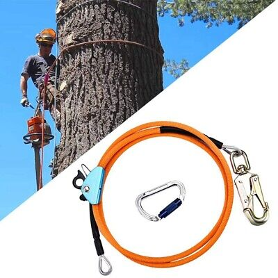12 Inch X 8 Inch Steel Wire Core Flip Line Kit Climbing Positioning Rope F P8a3