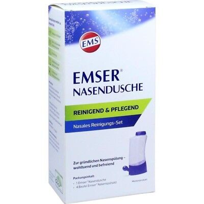 EMSER Nasendusche Nasanita   mit 4 Btl. Nasenspülsalz  - 1 Stk -   PZN 12615385