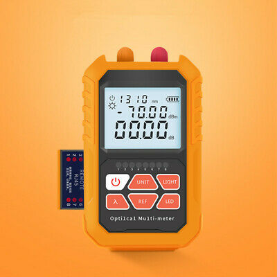 Mini Ftth Tool Fiber Optical Power Meter 15mw Visual Fault Locator Cable Tester