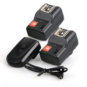 4Channels Wireless Flash Trigger Remote Control For Nikon Canon Camera Speedlite