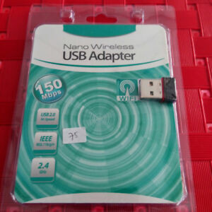 Brand New Mini USB Wireless Adapter/Dongle, Sealed in Package