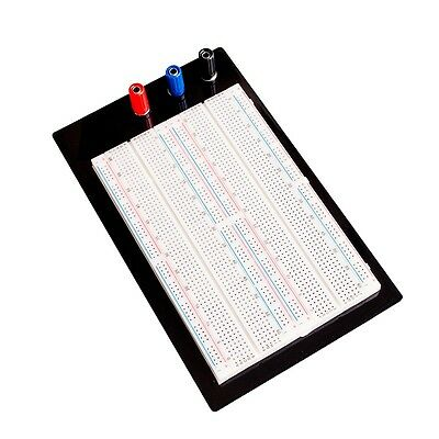 Solderless Breadboard Protoboard 1660 Positions Large Zy-204 With Banana Jacks