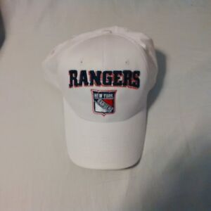 New York Rangers Zephyr Adjustable Baseball Hat New With Tags