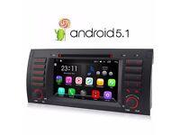 "BMW BMW X5 E53 7"" Android 5.1 Quad Core Car DVDPlayer Radio Stereo GPS WIFI"