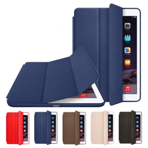 Ipad Mini Case - Magnetic Leather Smart Original Case Cover for Apple iPad 2 3 4 Mini 4 Air Pro