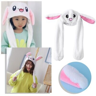 Hot Novelty Magic Rabbit Hat With Moving Ear Plush Toy Gift Kids Toy Party Photo - Magic Hat With Rabbit
