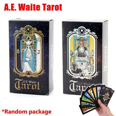 Waite Rider 78-card Beginner Tarot Cards Deck and Book Set w/ Guidebook