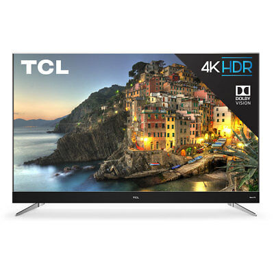 Tcl C Series 55  Smart Tv With 4K Hd Resolution  3 Hdmi  1 Usb   Built In Wifi
