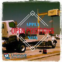 **Immediate Openings for Drivers***