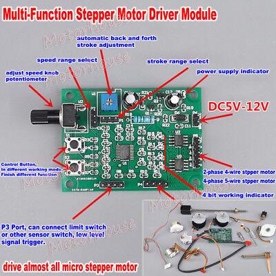 Dc 5v-12v 2-phase 4-wire Micro Mini Stepper Motor Driver Speed Controller Module
