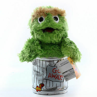 Sesame Street Plush Oscar the Grouch Stuffed Doll Toy New Plush Toy for Kids