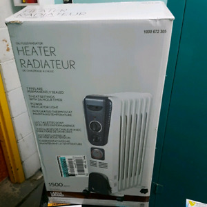 Oil filled radiator heater 1500watt