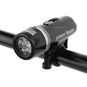 power beam head front five 5 led light for bike cross mountain road bicycle LEDs