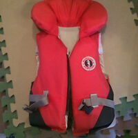 two kids life jackets........30-60 lbs.