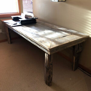 Stunning reclaimed wood Table : 8ft x 3 ft
