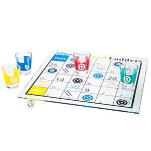 Trademark Games Shooters and Ladders Drinking Game Set, New