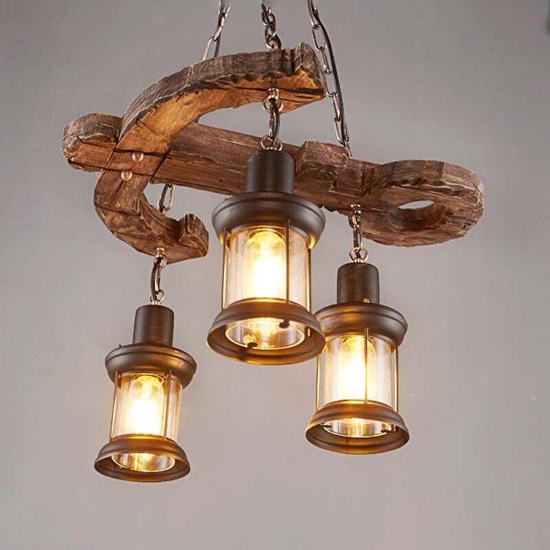 Lantern Chandelier Cafe Ceiling Light