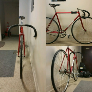 SOLD *** Ganolo track bike velo de piste fixed gear