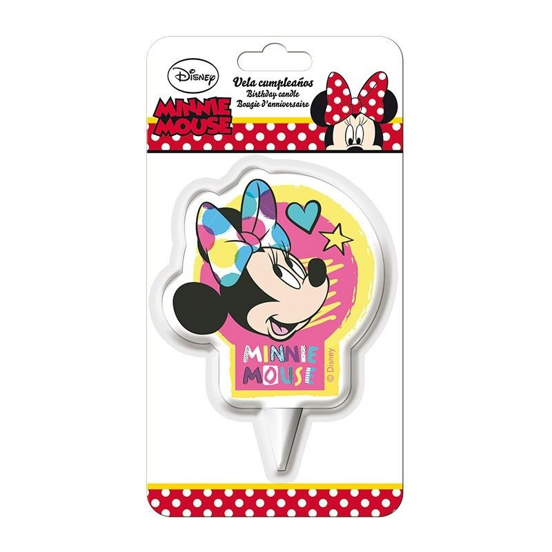 Candela per compleanno Minnie Disney dekora