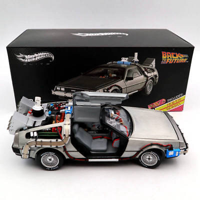 Hot Wheels 1:18 Elite Back To The Future Time Machine BCJ97 Ultimate Edition Toy