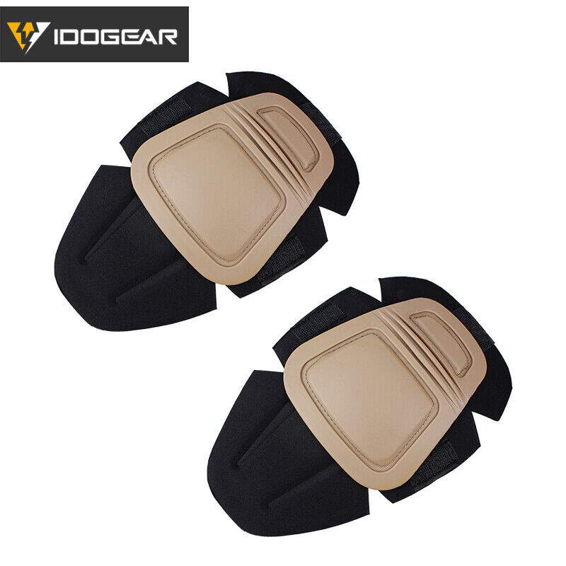 IDOGEAR G3 Tactical Knee Pads Protective For G3 Pants Interpolated Military Gear