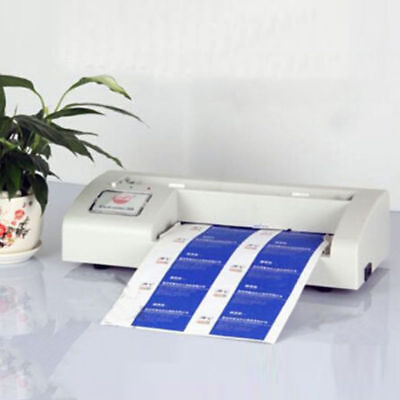 New 110v Automatic Business Card Cutter Binding Machine Electric Cutter 9054mm