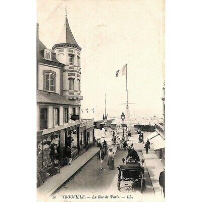 [14] Trouville - La Rue de Paris.