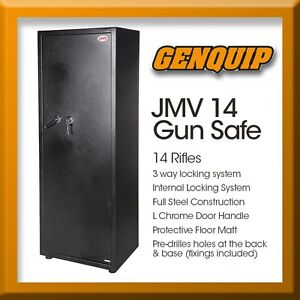 14 Gun Safe Heavy Duty Category A & B  *FREE MELB Metro Delivery* Braeside Kingston Area Preview