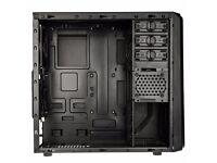 Rainjintek Arcadia BLACK Desktop PC mesh case USB 3.0 Midi-Tower Bottom ATX Micro Tower Top filter