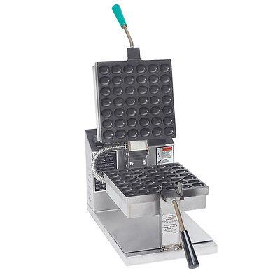 Gold Medal 5055et Puff Popper Waffle Baker Machine Maker
