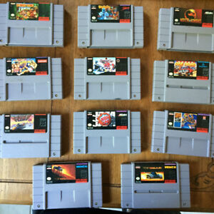 SNES Video Games for Sale
