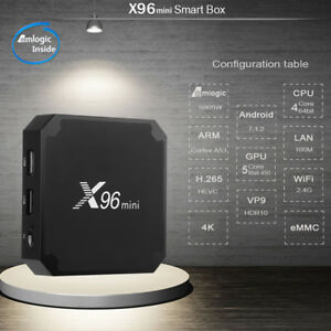 X96 Mini Android TV Boxes, Kodi, Terrarium TV, Sports,Music