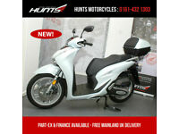 ORDER NOW (LATEST MODEL) Honda SH125i Scooter with Top Box. £3,399 On The Road