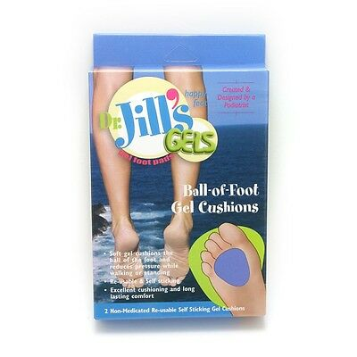 Dr. Jill's Gel Ball-of-Foot Cushion Re-usable (1/8