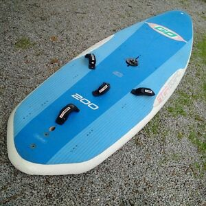 Starboard Go 200 package with 6.5 sm Areotech rig $1000 firm